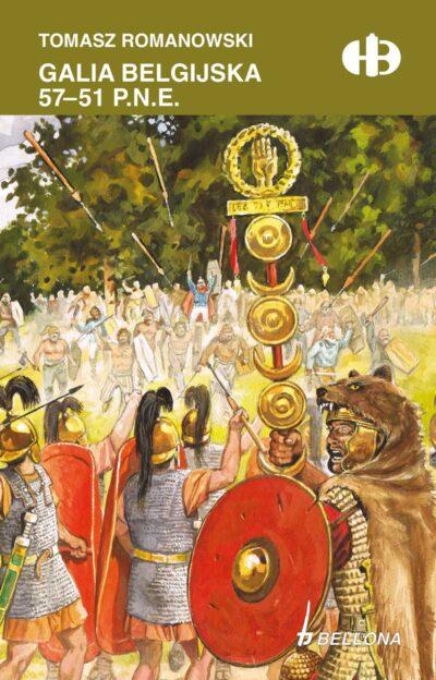 Galia belgijska 57 - 51 p.n.e